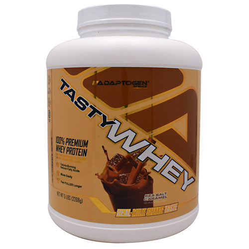 Adaptogen Science Performance Series Tasty Whey - Sea Salt Caramel - 5 lb - 862725000273
