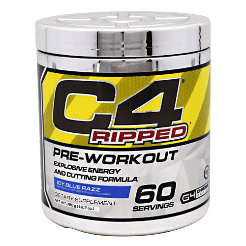 Cellucor Chrome Series C4 Ripped - Icy Blue Razz - 60 Servings - 810390028573