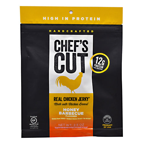 Chefs Cut Real Jerky Real Chicken Jerky - Honey Barbecue - 2.5 oz - 858959005030