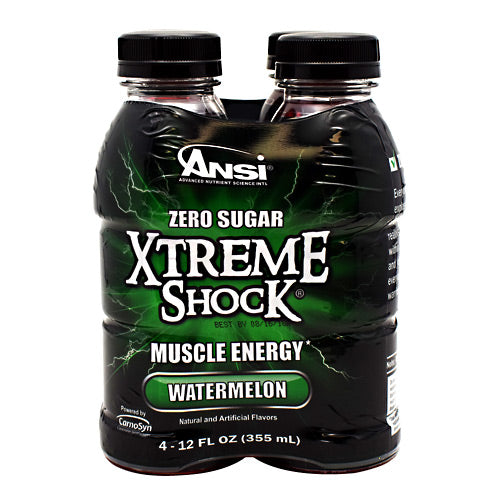 ANSI Xtreme Shock - Watermelon - 4 Bottles - 689570407428
