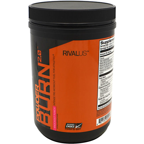 Rivalus Rivalus Powder Burn 2.0 - Knockout Punch - 0.87 lbs - 807156002007