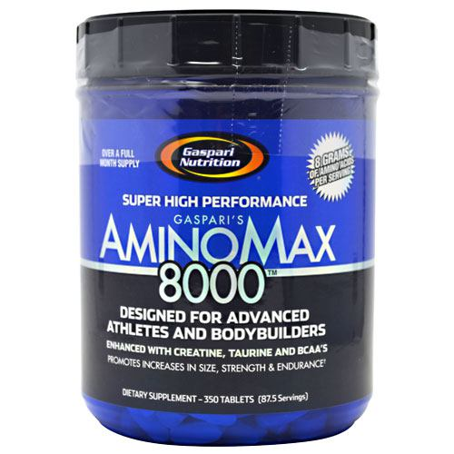Gaspari Nutrition Amino Max 8000 - 350 Tablets - 646511006997