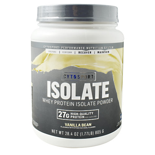 Cytosport Isolate - Vanilla Bean - 1.77 lb - 660726804001