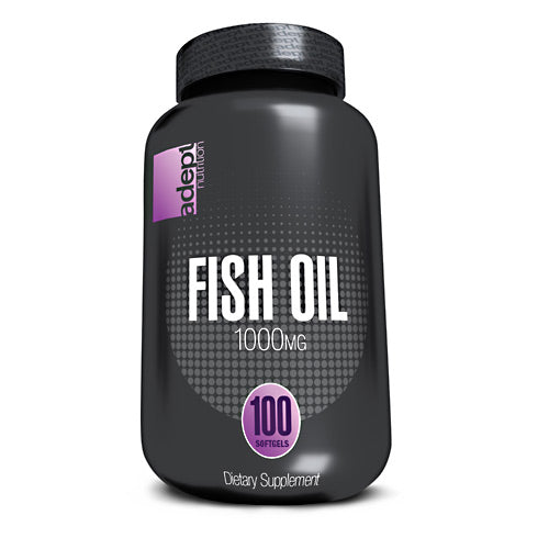 Adept Nutrition Fish Oil - 100 Softgels - 850850003290
