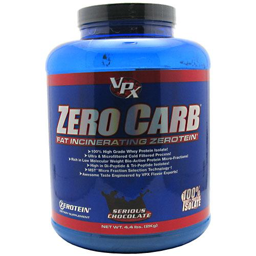 VPX Zero Carb Fat Incinerating Zerotein - Serious Chocolate - 4.4 lb - 610764010131