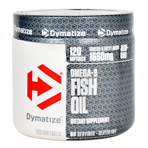 Dymatize Omega-3 Fish Oil - 120 Servings - 705016472017