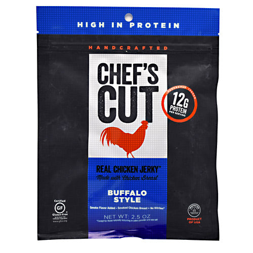 Chefs Cut Real Jerky Real Chicken Jerky - Buffalo Style - 2.5 oz - 858959005146