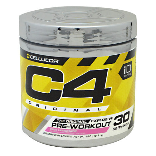 Cellucor iD Series C4 - Pink Lemonade - 30 Servings - 810390028429