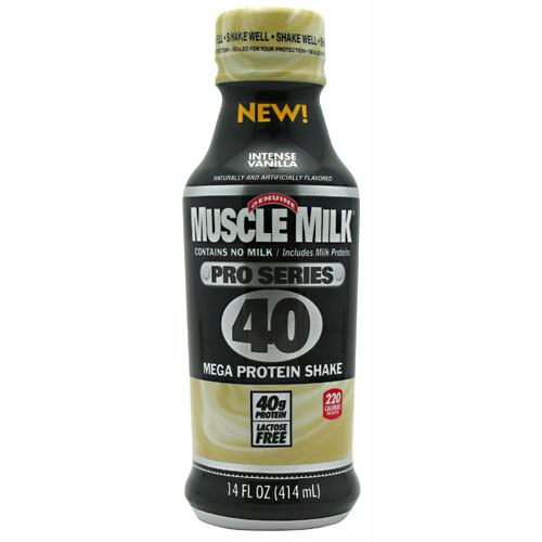 Cytosport Pro Series Muscle Milk Pro Series 40 - Intense Vanilla - 12 Bottles - 876063002912