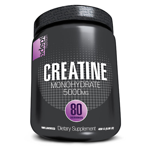 Adept Nutrition Creatine Monohydrate - Unflavored - 80 Servings - 850850003238