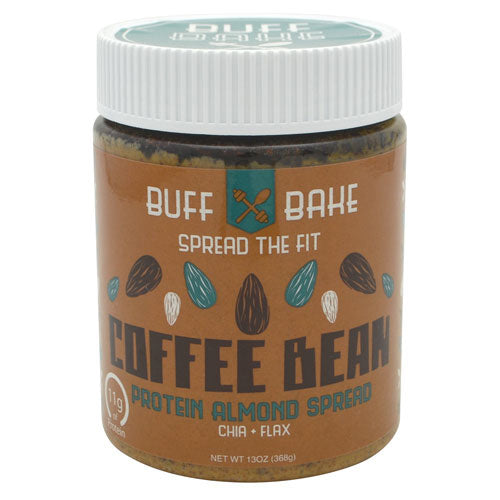 Buff Bake Protein Almond Spread - Coffee Bean - 13 oz - 857697005319