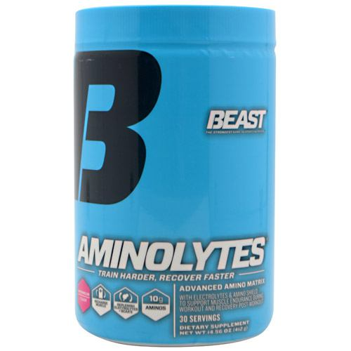Beast Sports Nutrition Aminolytes - Watermelon - 30 Servings - 631312804019