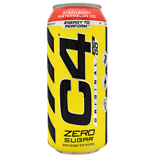 Cellucor Original C4 On the Go - Sparkling Strawberry Watermelon - 12 Cans - 842595106589
