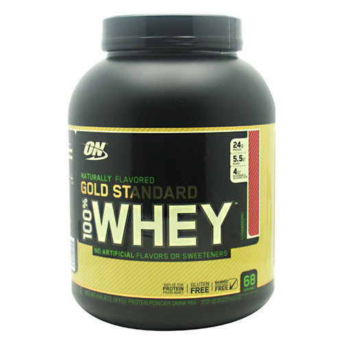 Optimum Nutrition Gold Standard Natural 100% Whey - Strawberry - 4.8 lb - 748927053081