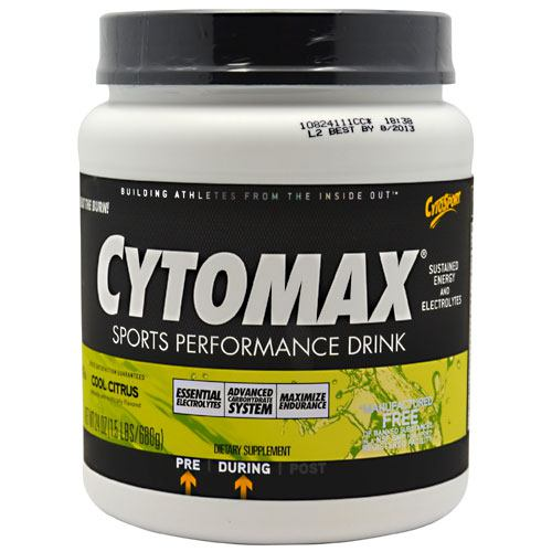 Cytosport Cytomax - Cool Citrus - 24 oz - 660726103104