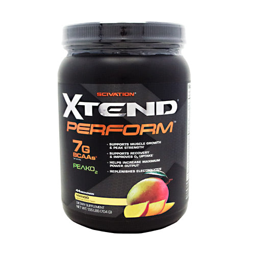 Scivation Xtend Perform - Mango - 44 Servings - 812135021269