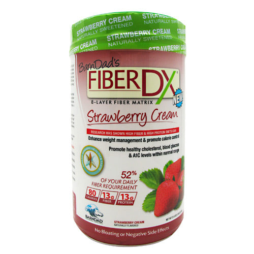 BarnDad Innovative Nutrition Fiber DX - Strawberry Cream - 20 Servings - 859631003177