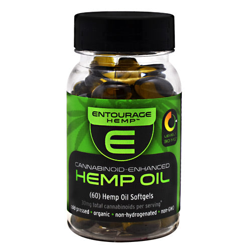 Cannoid Entourage Hemp Hemp Oil - 60 Softgels - 850289006367