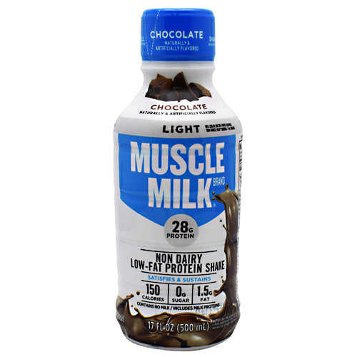 Cytosport Muscle Milk Light RTD - Chocolate - 12 Bottles - 876063000185