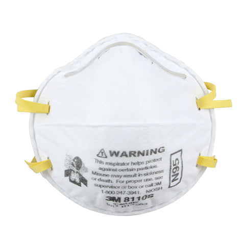 3M 8110S N95 Respirator Mask - 20 pack