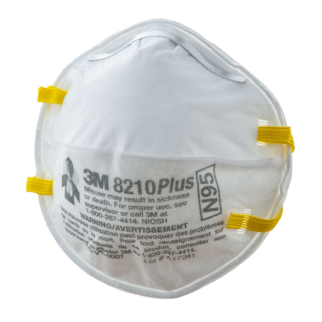8210pp20 8210plus 20 Pack 3m Mask Respirator N95 -
