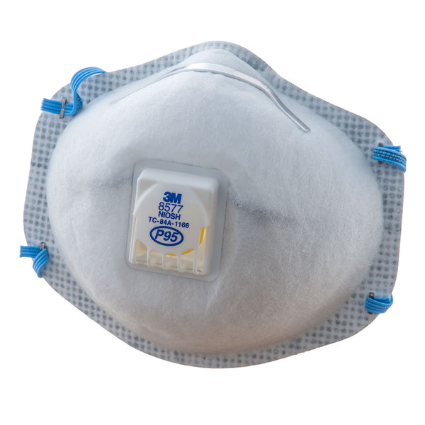Iq Air Filters >> 3M 8577 P95 Respirator Mask - 10 pack – iAllergy