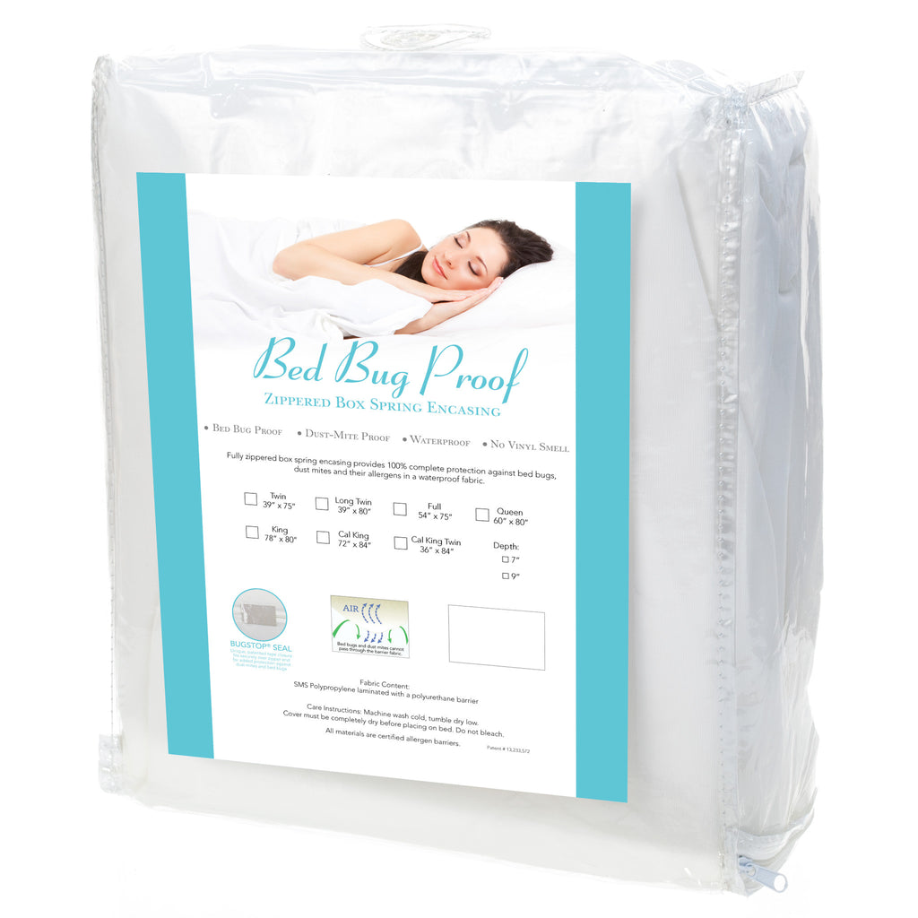 Bed Bug Proof Box Spring Encasing Iallergy