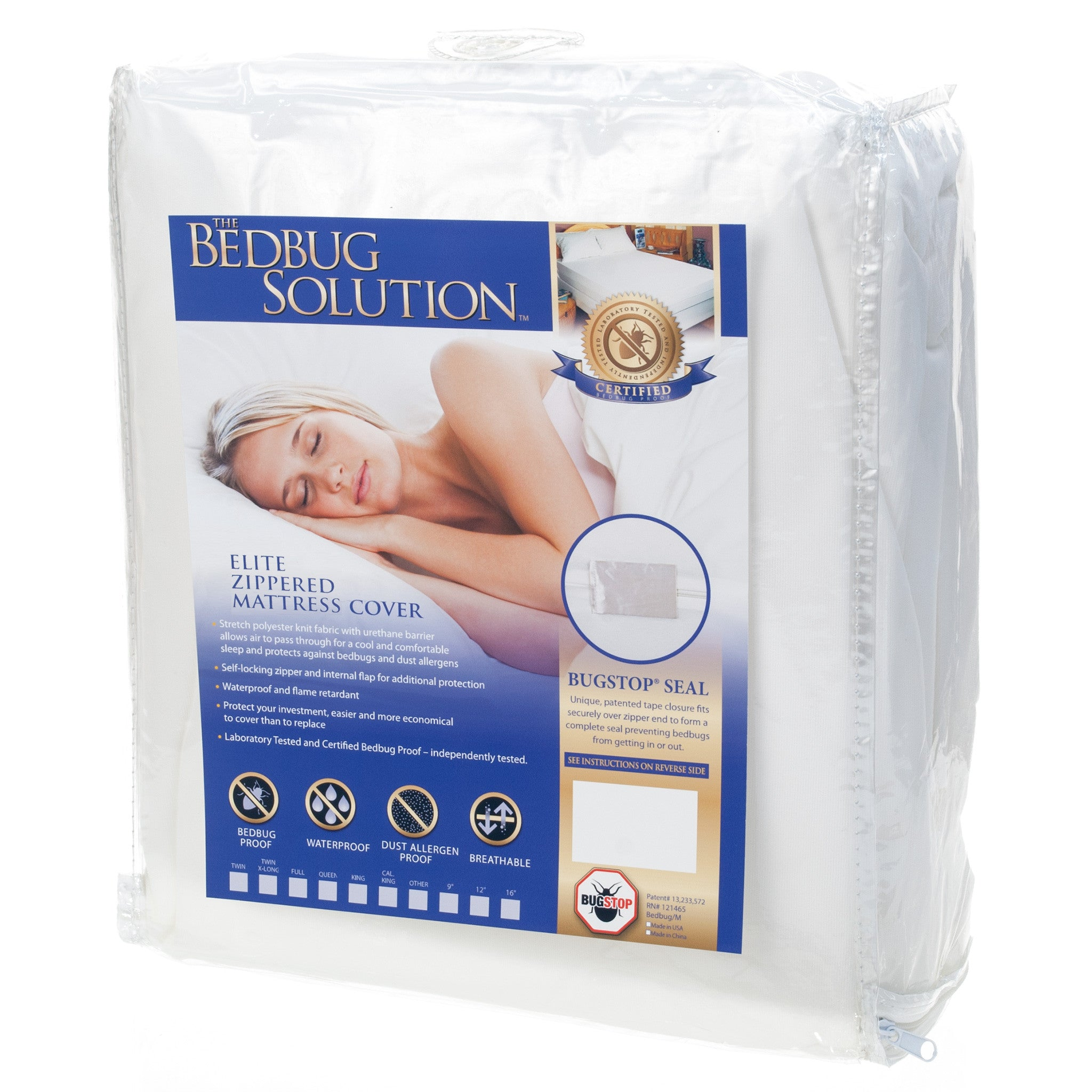 Bed Bug Proof Mattress Encasing