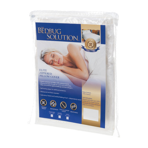 100% Bed Bug Proof Pillow Encasement