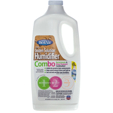 Humidifier Bacteria Treatment