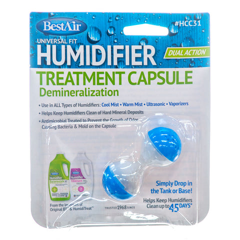Humidifier Demineralization Treatment Capsule HCC31