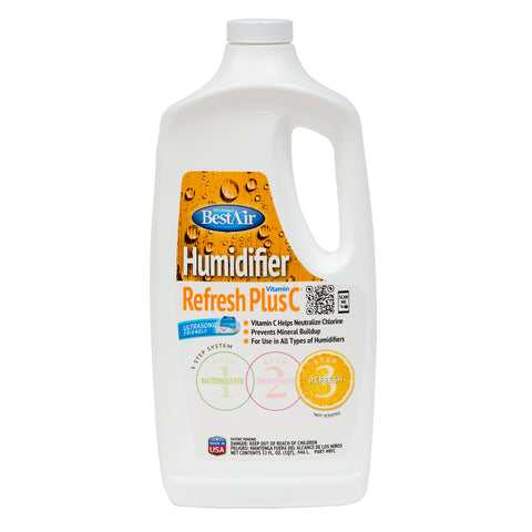 BestAir Humidifier Refresh Plus Vitamin C - 32 oz