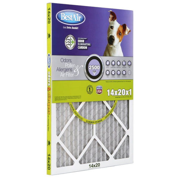 BestAir Extreme Odor Pollen & Allergens Filter