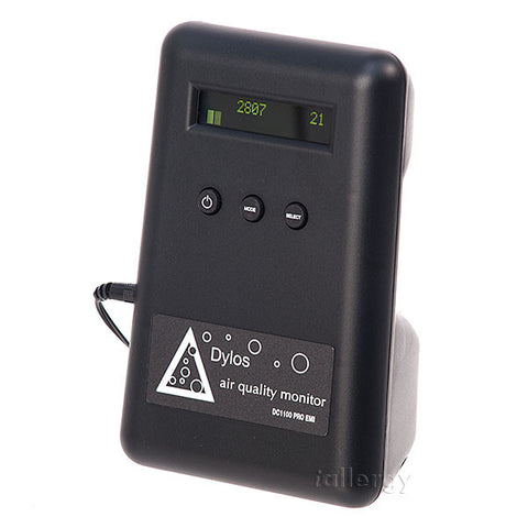 Dylos DC1100 Pro Air Quality Monitor w/ EMI for Air Purifier Test