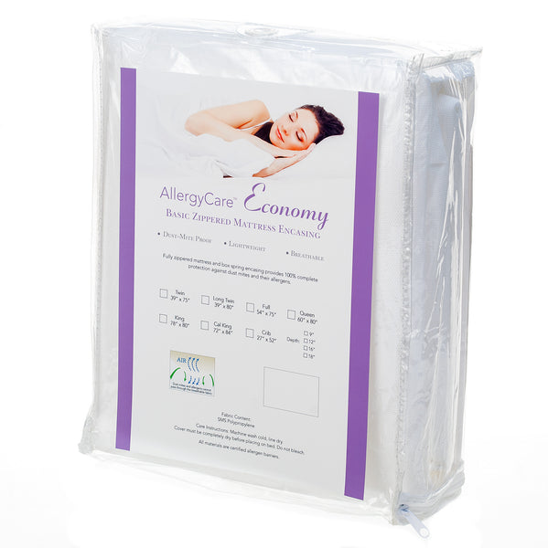 Economy Dust Mite Proof Mattress Encasing