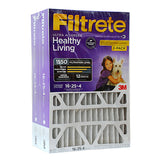 Filtrete 16x25x4 Ultra Allergen Filter for Honeywell, Trion - 2 PACK (15 7/8 x 24 9/16 x 4 5/16)