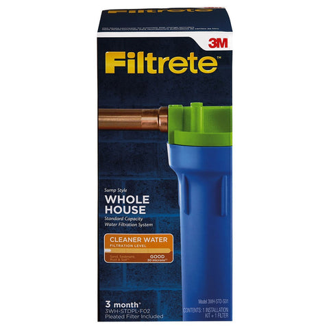 3M Filtrete 3WH-STD-S01 Whole House Drinking Water System
