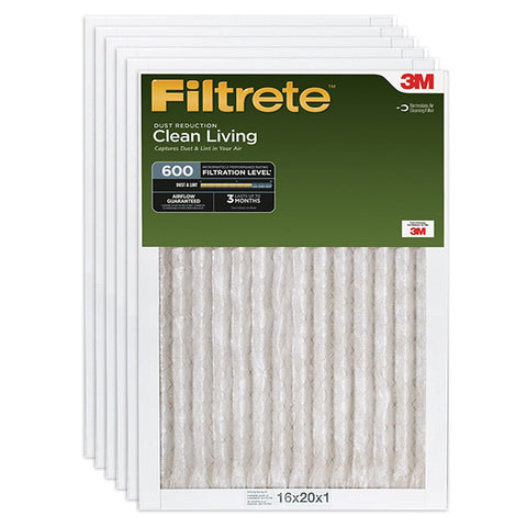 3M Filtrete 600 Dust Reduction Clean Living Filter