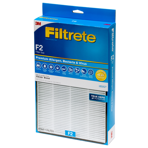 3M Filtrete F2 True HEPA Replacement Filter