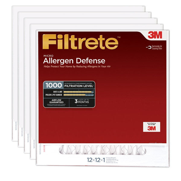 3M Filtrete 1000 Micro Allergen Defense Filter