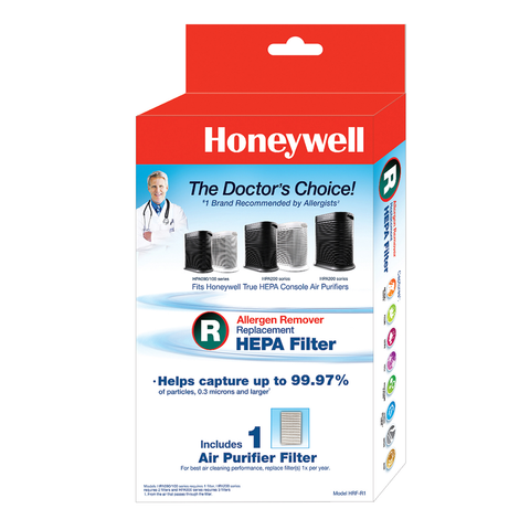 Genuine Honeywell True HEPA Replacement Filter R