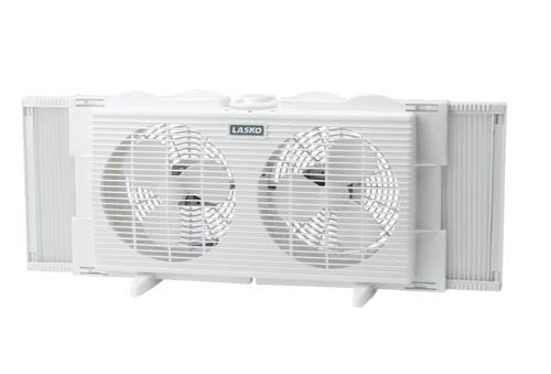"Lasko 2137 7"" Twin Window Fan"