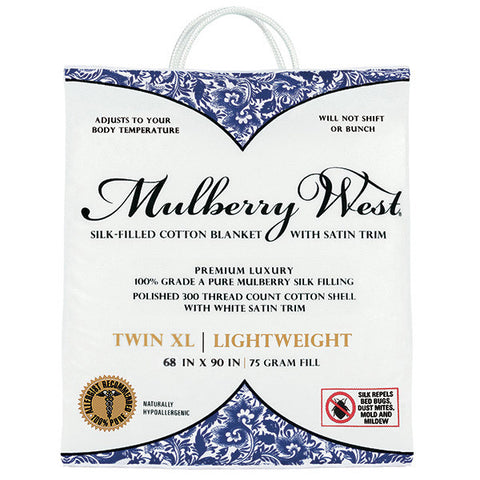 Mulberry West Silk Comforters and Blankets