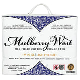 Mulberry West Silk-Filled Cotton Comforter