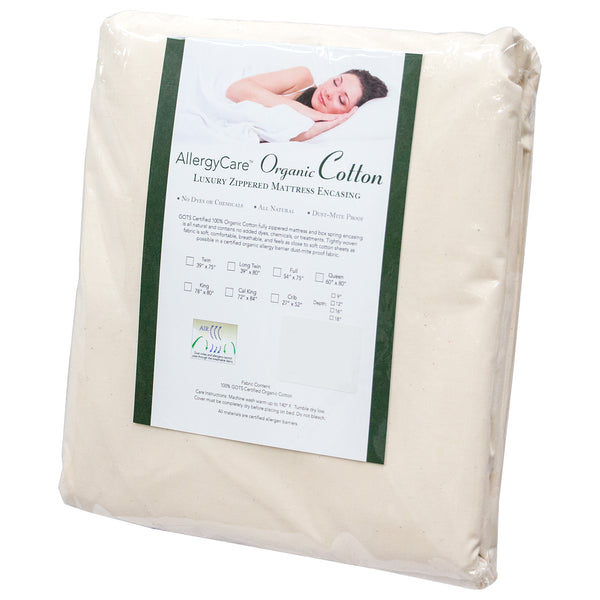 Organic Cotton Dust Mite & Allergy Mattress Encasing