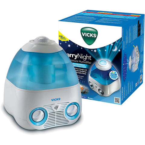 Vicks V3700 Starry Night Cool Mist Humidifier - Blue