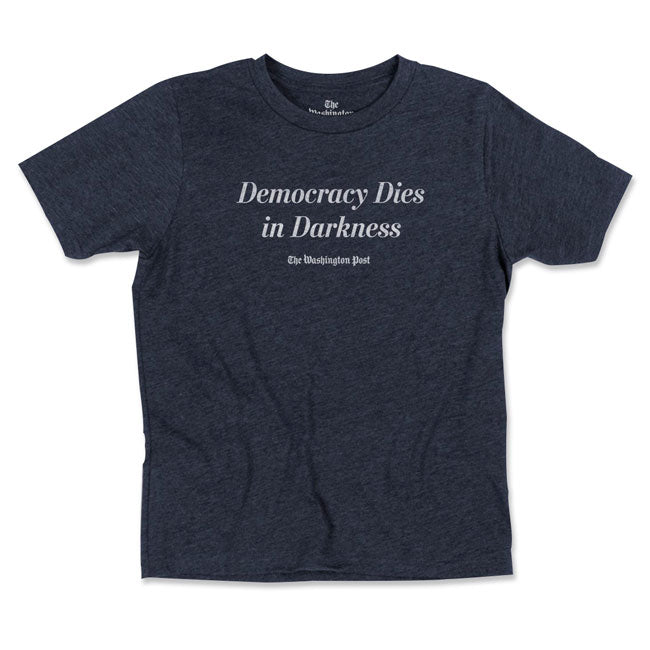 Democracy Dies in Darkness Youth T-shirt