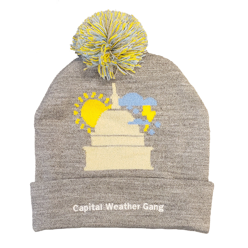 Capital Weather Gang knit winter hat