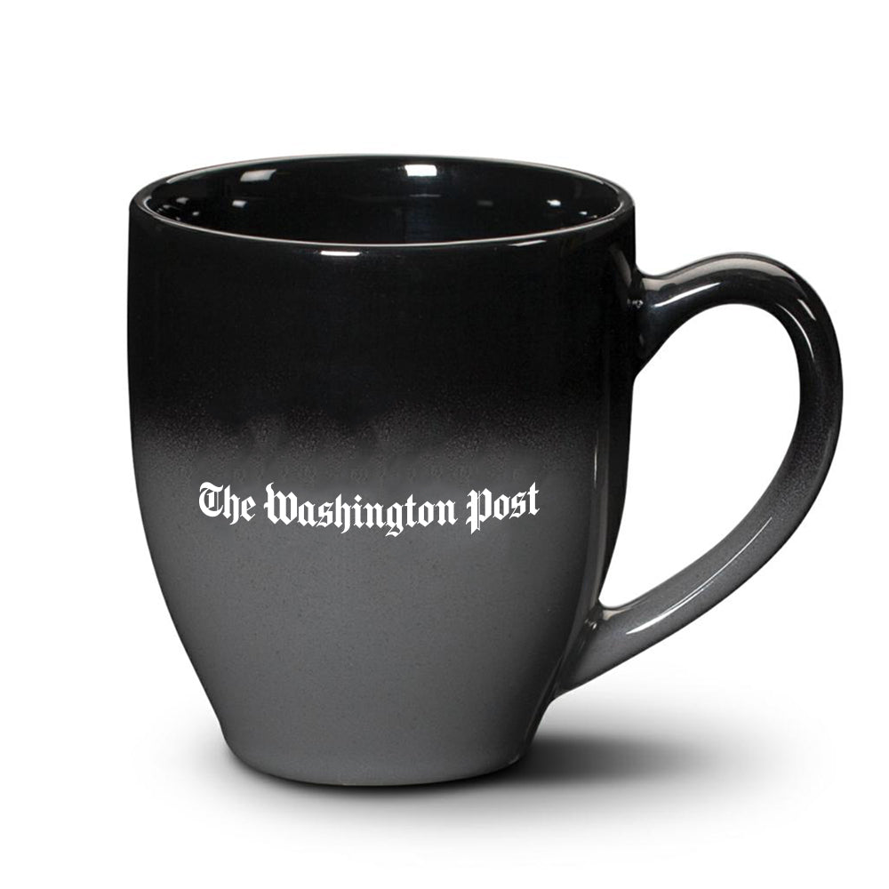 The Washington Post coffee mug in black