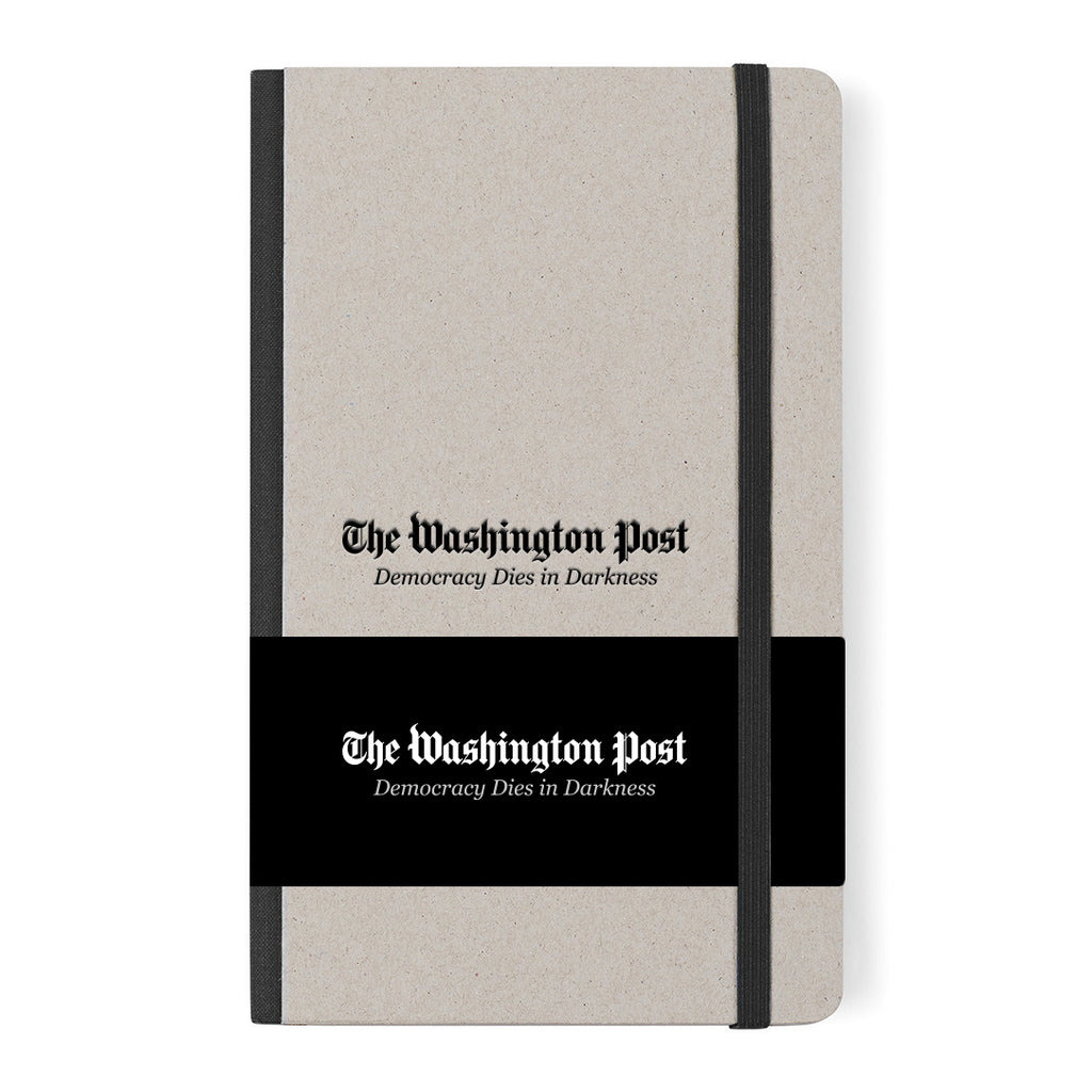 Washington Post moleskin ruled notebook